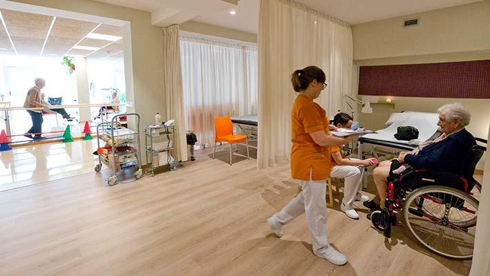 Centro de Rehabilitación de personas mayores   Allegra