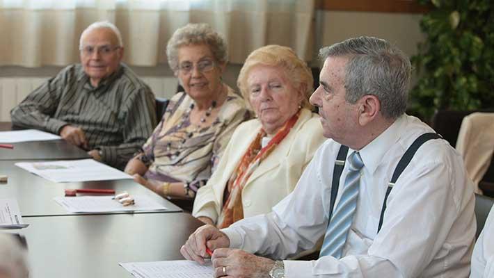 Socialización clave para un envejecimiento activo