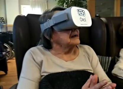 Realidad virtual para trabajo con ancianos