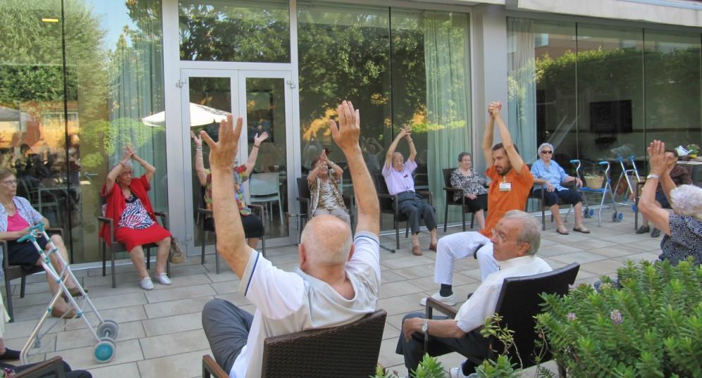 actividad física al aire libre