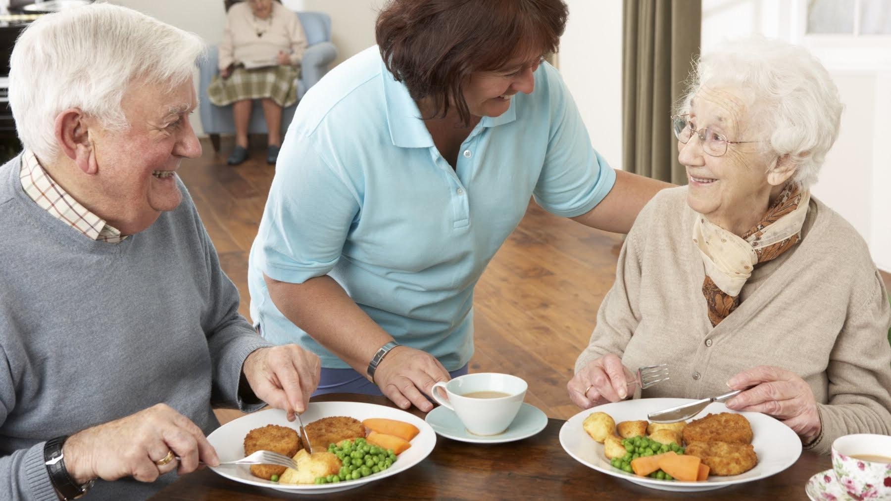 Dieta saludable para la tercera edad