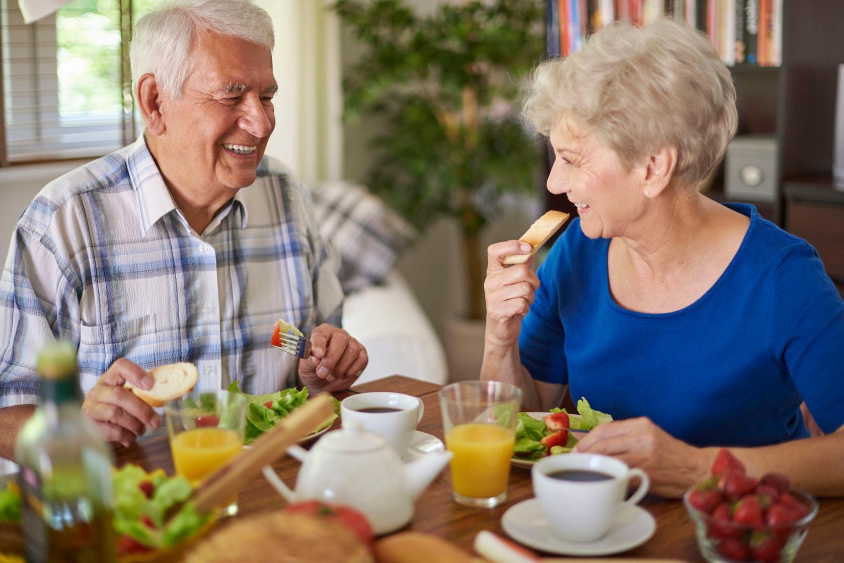 Dieta hiposódica para mayores