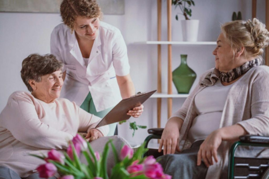 Residències d'ancians subvencionades